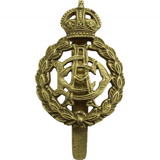 Army Dental Corps WW1 Army Dental Corps ADC Dentist Cap Badge - G.KARANJEE & SONS ALIGARH. U.P