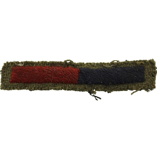 Royal Artillery WW2 Royal Artillery Regiment Cloth Arm of Service Strips Stripes