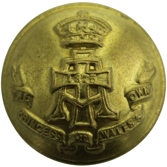 Yorkshire (Green Howards) Green Howards (Yorkshire) Regiment Tunic Button - 26mm