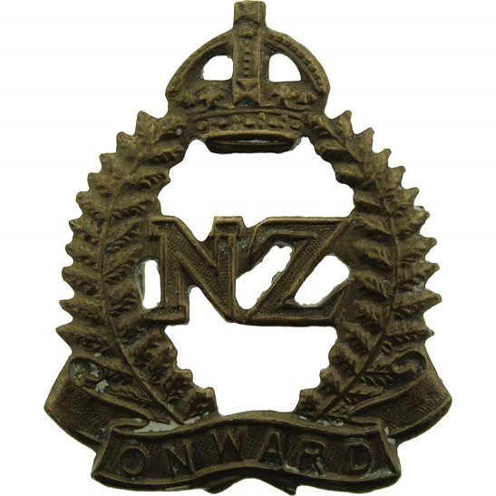 WW1 New Zealand Army New Zealand Army Infantry Forces Division / Corps Collar Badge