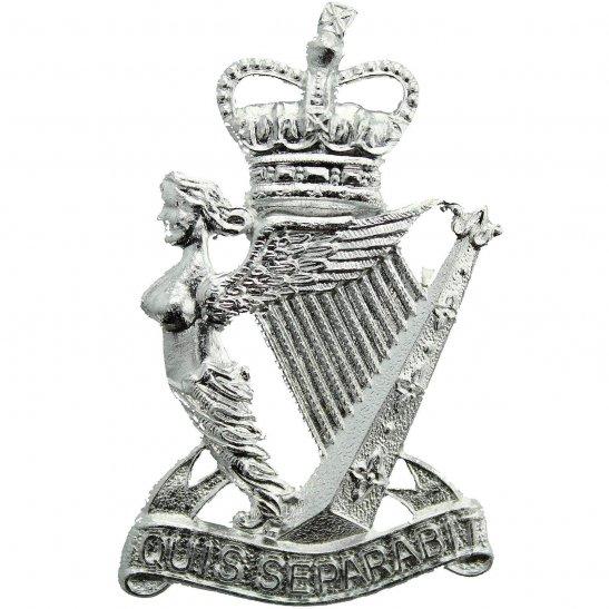Royal Ulster Rifles Royal Ulster Rifles Regiment Staybrite Anodised Cap Badge - Staybright