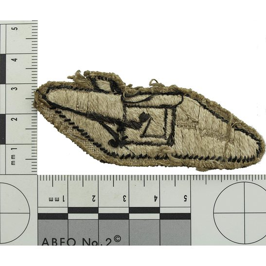 additional image for WW2 Royal Tank Regiment Armoured Corps Cloth Formation Sign Patch Badge
