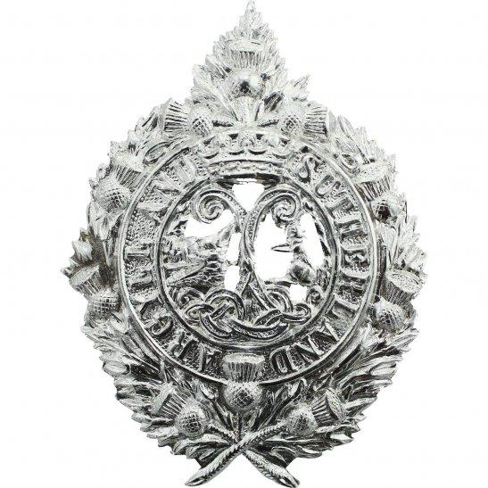Argyll and Sutherland Highlanders Argyll and Sutherland Highlanders Regiment Staybrite Anodised Cap Badge - Staybright