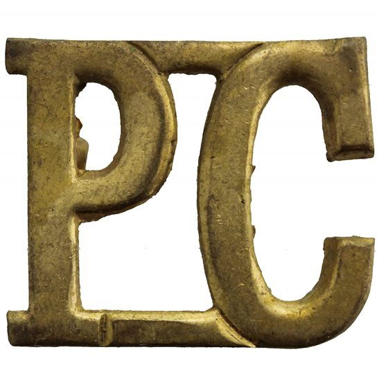 Royal Pioneer Corps Royal Pioneer Corps Shoulder Title