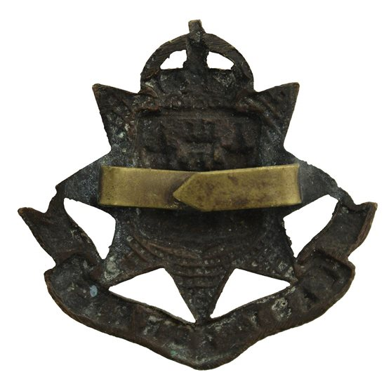 additional image for East Surrey Regiment OFFICERS Bronze Cap Badge