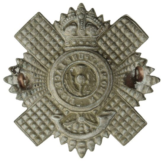 additional image for 4th & 5th Territorial Battlaions, Royal Scots (Scottish) Regiment Cap Badge