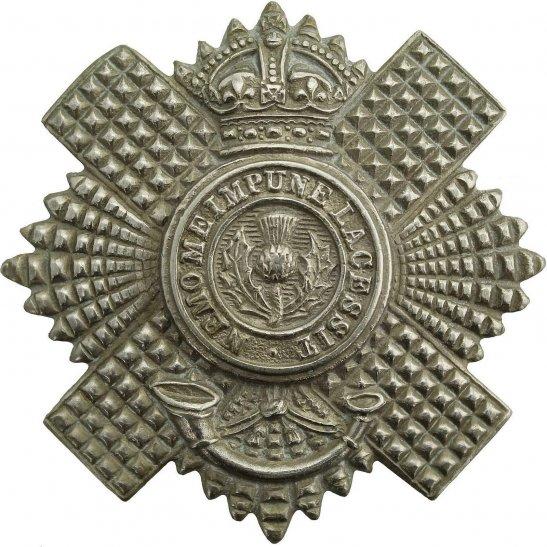 Royal Scots 4th & 5th Territorial Battlaions, Royal Scots (Scottish) Regiment Cap Badge