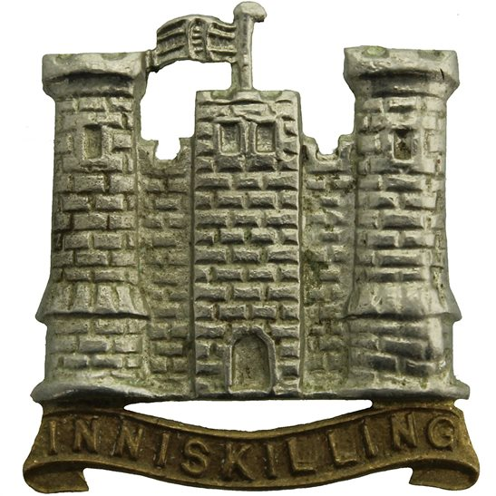 5th Dragoon Guards WW1 5th Royal Inniskilling Dragoon Guards Irish Regiment Collar Badge