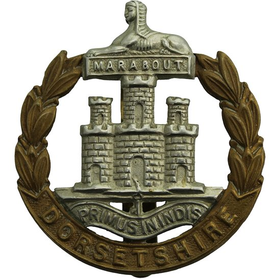 Dorset Regiment Dorsetshire (Dorset) Regiment Cap Badge