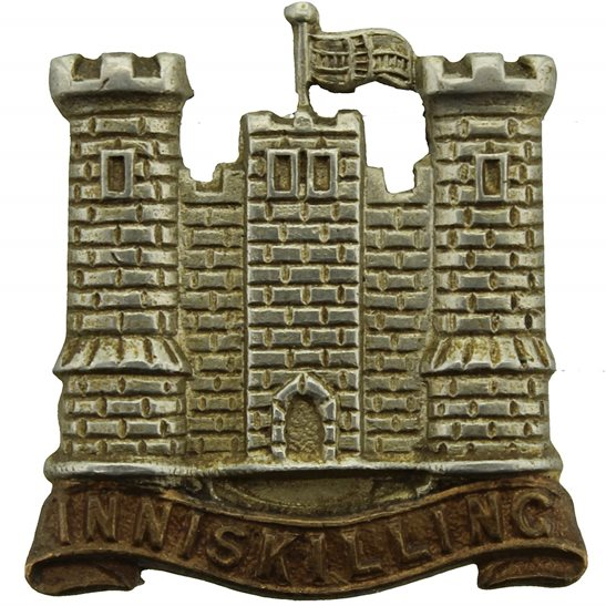 5th Dragoon Guards WW2 5th Royal Inniskilling Dragoon Guards Irish Regiment Collar Badge