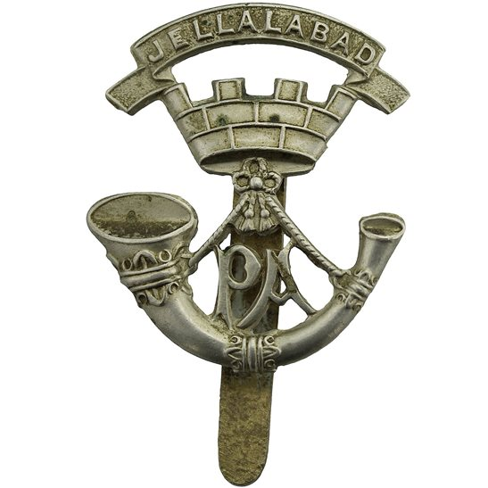 Somerset Light Infantry Somerset Light Infantry SLI Regiment Cap Badge - J.R. GAUNT LONDON Makers Mark