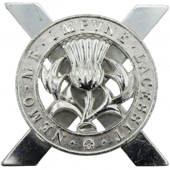Lowland Infantry Brigade Scottish Staybrite Anodised Cap Badge - Staybright