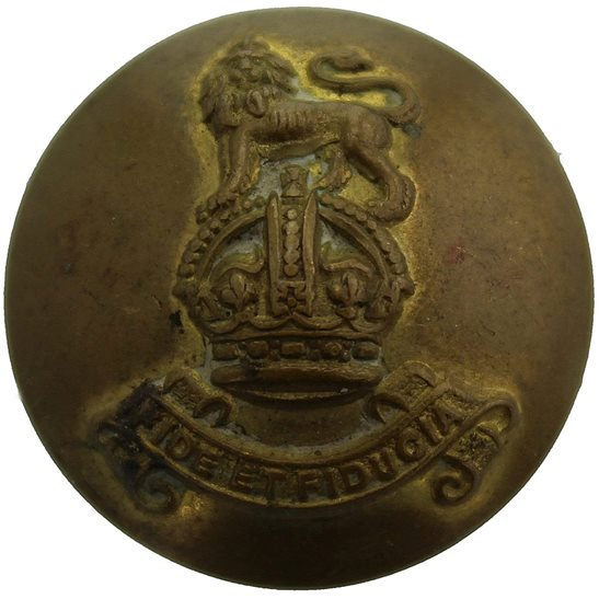 Royal Army Pay Corps RAPC WW2 Royal Army Pay Corps RAPC Tunic Button - 26mm