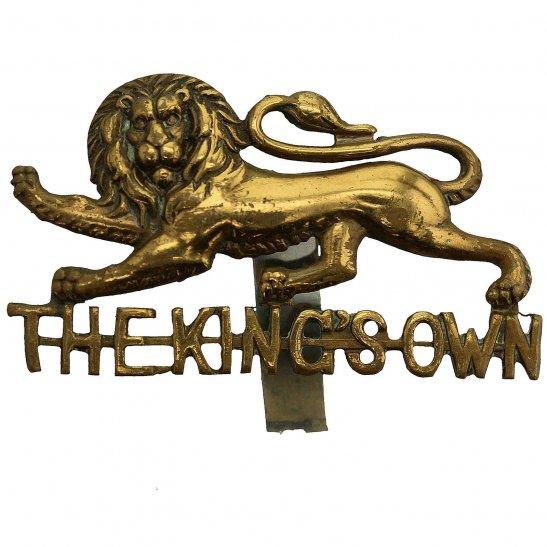 Kings Own Royal Lancaster Kings Own Royal Lancaster Regiment King's Cap Badge