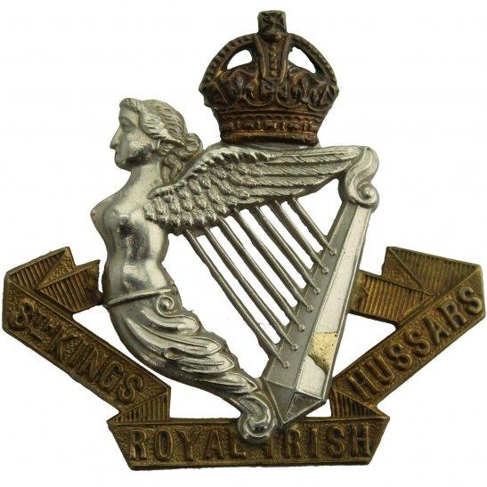 8th Hussars 8th Kings Royal Irish Hussars Regiment (King's) Cap Badge - LUGS VERSION