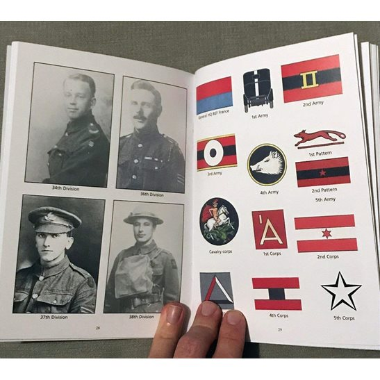 additional image for WW1 British Corps & Divisional Signs Cloth Formation Patch Identification Book