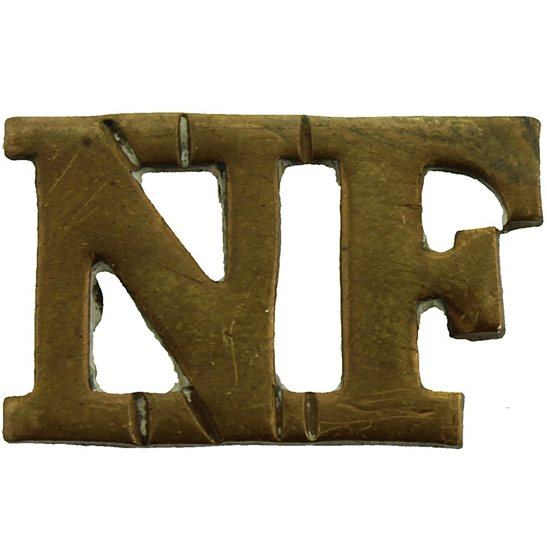 Northumberland Fusiliers WW1 Northumberland Fusiliers Regiment Shoulder Title