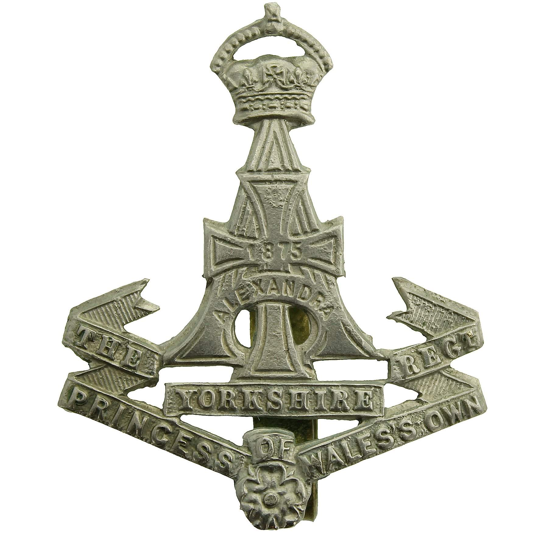 Armed Forces The Green Howards Veteran Lapel pin badge.