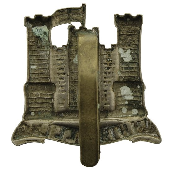 additional image for WW1 6th Inniskilling Dragoons Irish Regiment Cap Badge