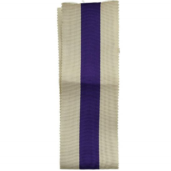 WW1 / WW2 Spare British Military Cross Medal MC SILK Ribbon - Measures 8 Inches