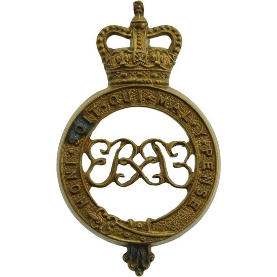 Grenadier Guards Grenadier Guards Regiment Shoulder Title PART - Queens Crown