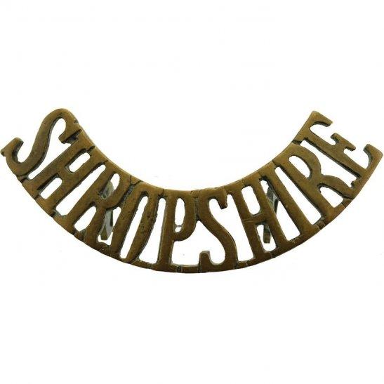 Kings Shropshire Light Infantry KSLI WW1 Kings Shropshire Light Infantry KSLI Regiment King's Shoulder Title