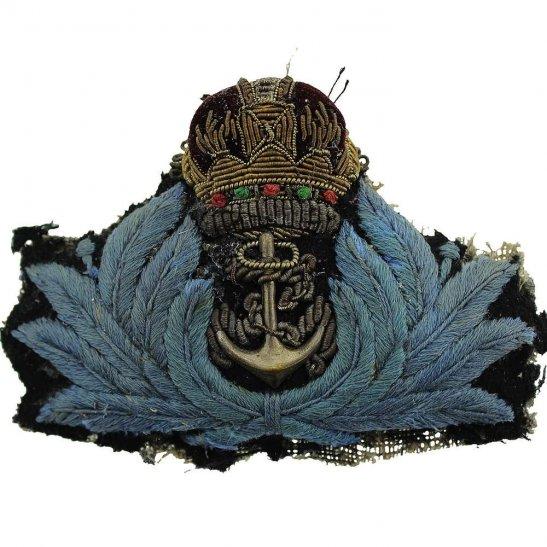 Royal Navy Womens Royal Naval Service WRNS Women's WRENS Cloth Cap Badge