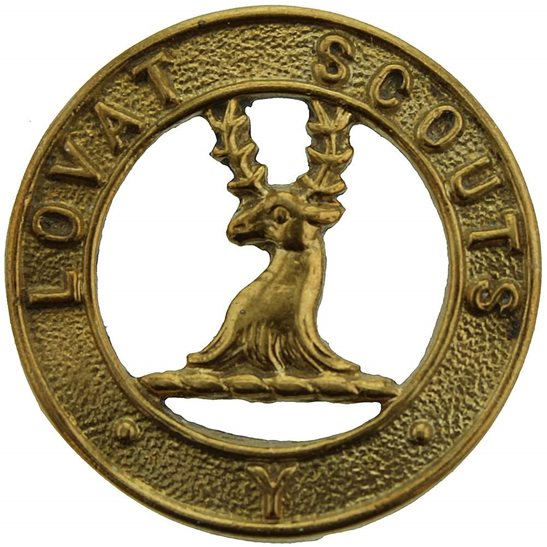 Lovat Scouts The Lovat Scouts (Scottish Yeomanry) Regiment Collar Badge