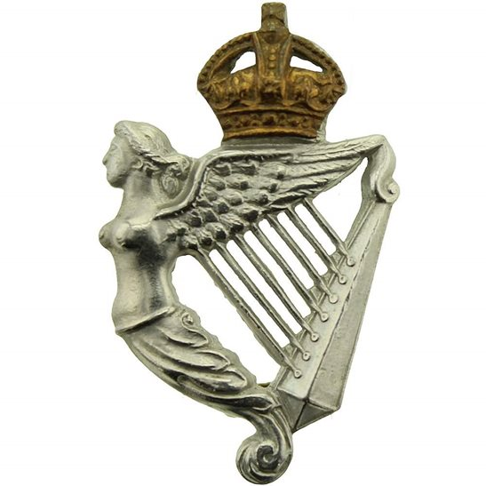 8th Hussars 8th Kings Royal Irish Hussars Regiment Collar Badge