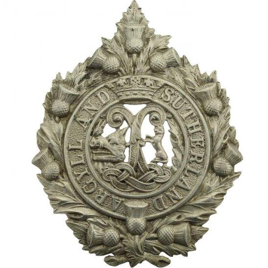 Argyll and Sutherland Highlanders FOR MARTIN WW1 Argyll and Sutherland Highlanders Regiment Cap Badge