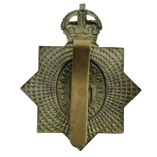 additional image for WW1 1st Kings Dragoon Guards Regiment KDG (King's) Cap Badge - 1ST PATTERN