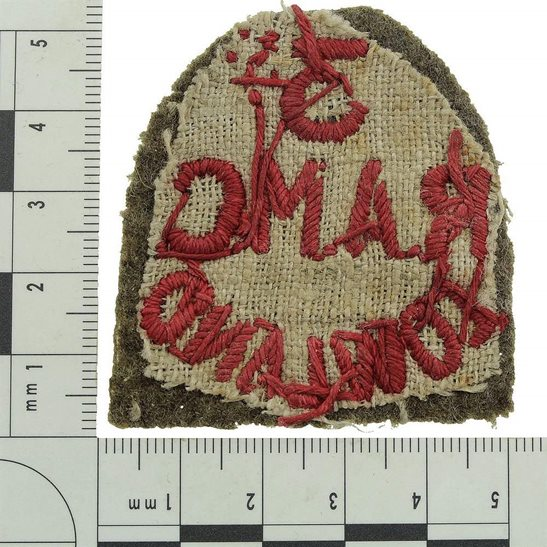 additional image for WW1 3rd Lowland Brigade, Royal Army Medical Corps RAMC Cloth Shoulder Title Badge Flash