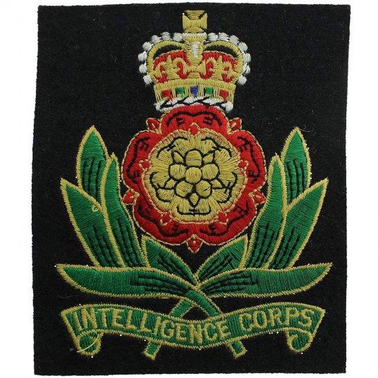 Intelligence Corps Intelligence Corps Cloth Veterans Blazer Badge Patch