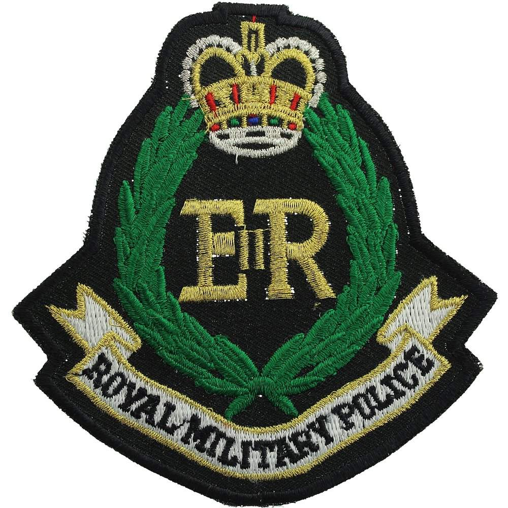 British Army Royal Military Police RMP Embroidered Patch