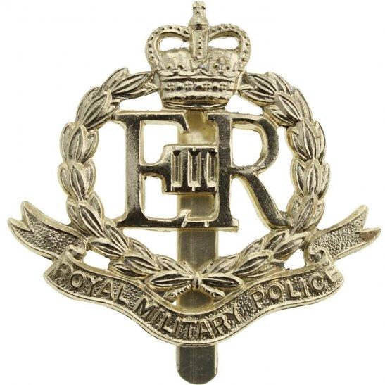Royal Military Police RMP Royal Military Police Corps RMP Staybrite Anodised Cap Badge - Staybright