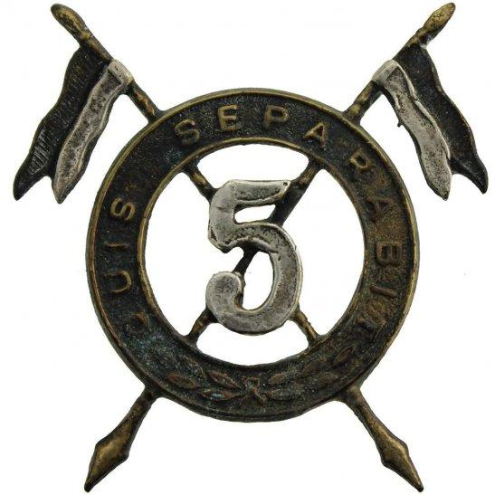 5th Royal Irish Lancers 5th Royal Irish Lancers Regiment Cap Badge