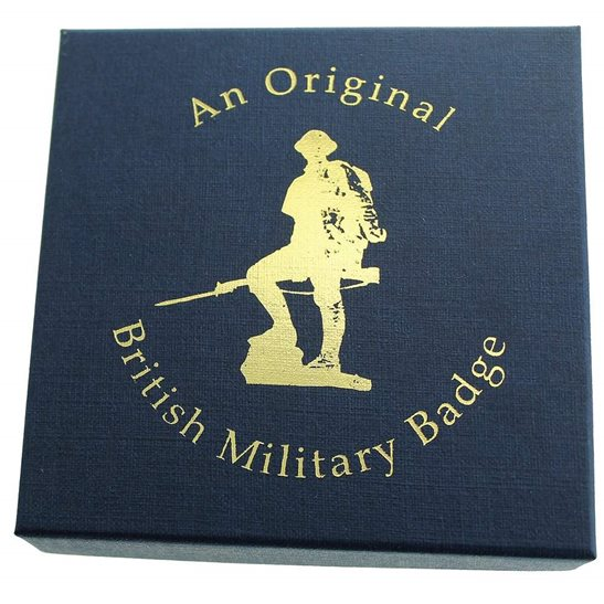additional image for EMPTY / Spare 'AN ORIGINAL BRITISH MILITARY BADGE' Presentation & Gift Box