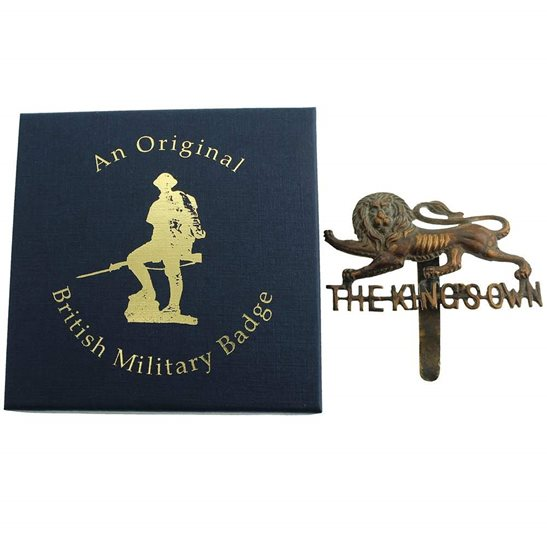 additional image for Kings Own Royal Lancaster Regiment Cap Badge in Presentation & Gift Box