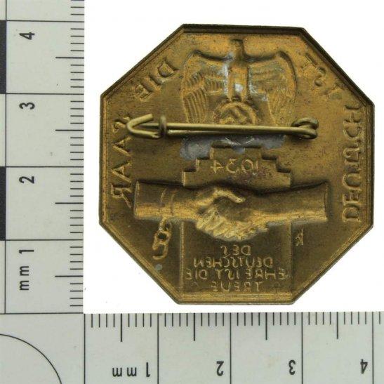 additional image for WW2 German NAZI 1934 Tinnie Badge