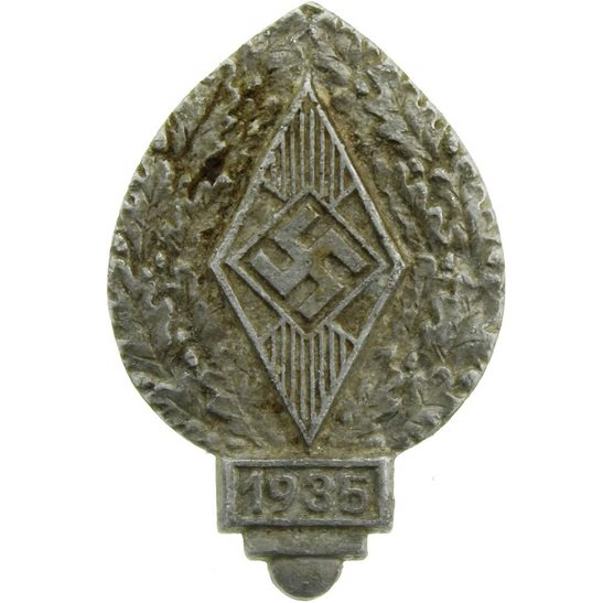 WW2 German Army WW2 Nazi German HJ Hitler-Jugend Day Badge