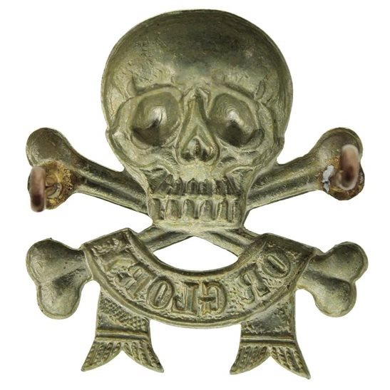 additional image for 17th / 21st Lancers (Deaths Head) Regiment Arm / Sleeve Badge