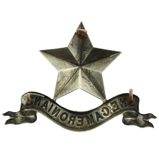 additional image for The Cameronians (Scottish Rifles) Regiment PIPERS GLENGARRY Cap Badge