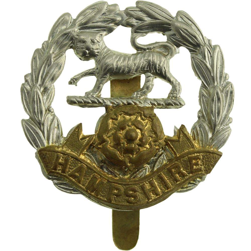 Military Badge Royal Hampshire Regiment