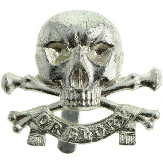 17th / 21st Lancers 17th / 21st Lancers Regiment Staybrite Anodised Cap Badge - Staybright