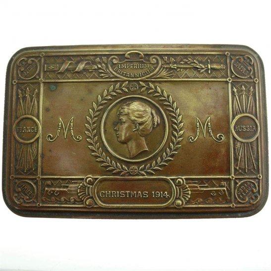 Princess Mary 1914 Christmas Gift Tin - Empty