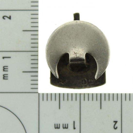 additional image for WW2 ARP Warden (Air Raid Precautions) HALLMARKED Silver SMALL Lapel Badge
