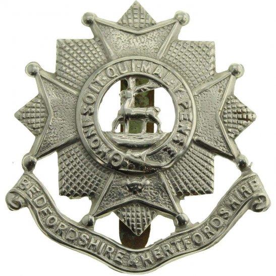 Bedfordshire and Hertfordshire WW2 Bedfordshire and Hertfordshire Regiment Cap Badge