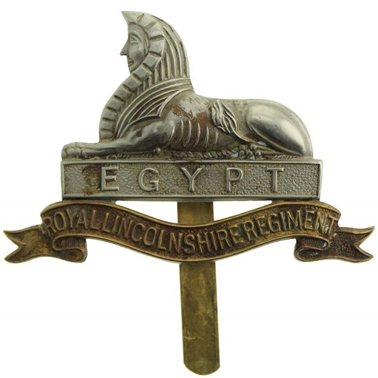 Lincolnshire Regiment 1946 Royal Lincolnshire Regiment Cap Badge