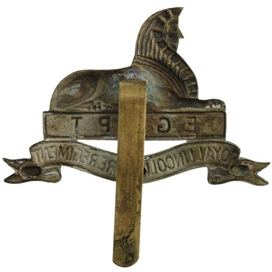 additional image for 1946 Royal Lincolnshire Regiment Cap Badge