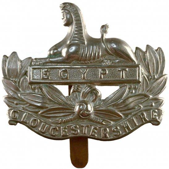 Gloucestershire Regiment WW1 Gloucestershire Regiment Cap Badge